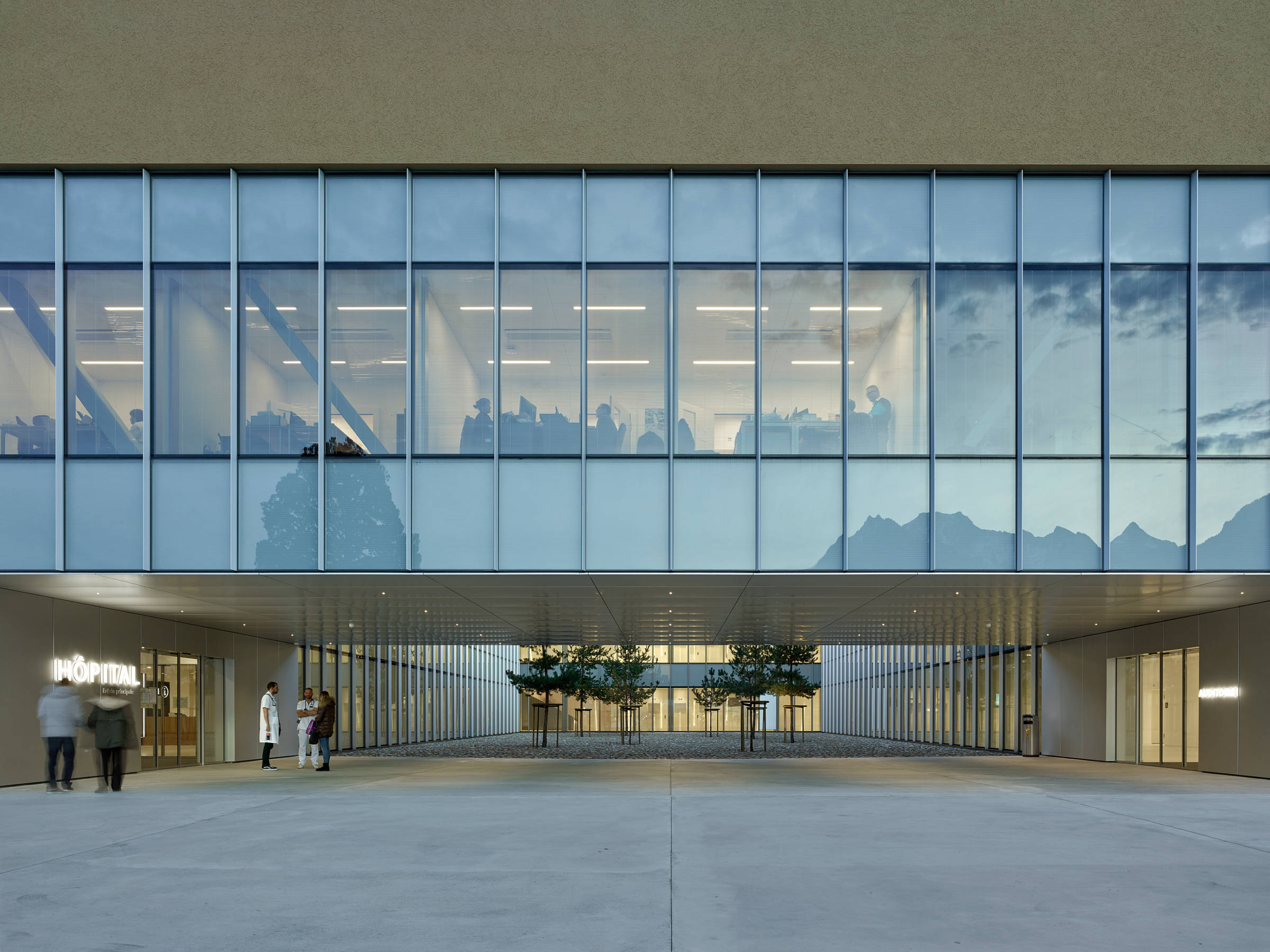 Architecture Hôpital - Hôpital Riviera-Chablais
