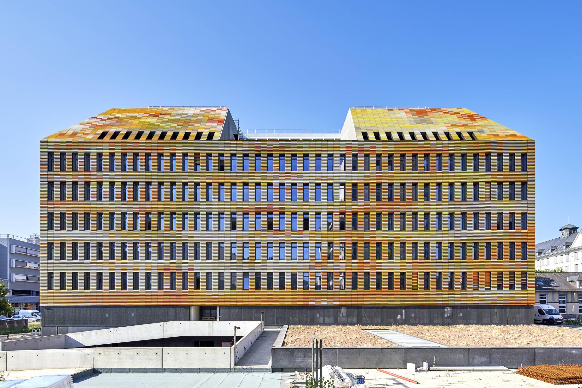 Architecture recherche médicale - CRBS, Strasbourg_Architecture recherche médicale_Groupe-6
