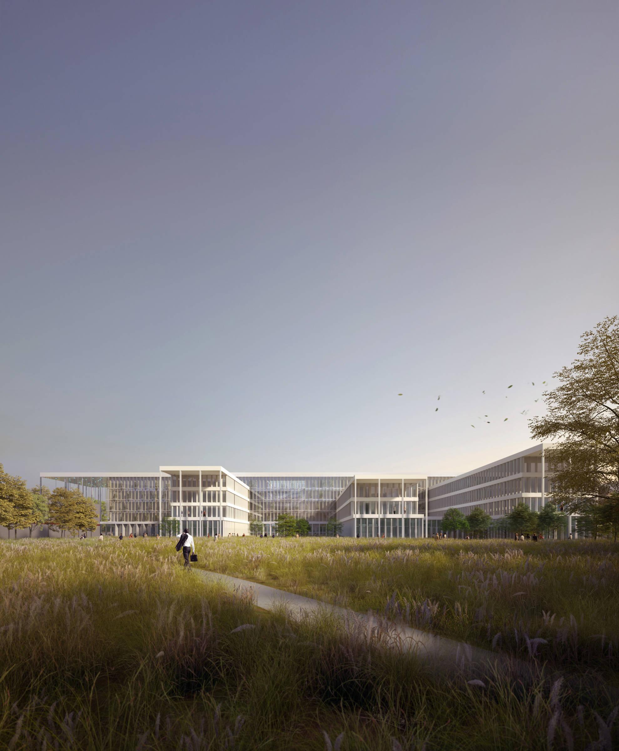 Architecture Rhône Alpes - Campus technologique et d'innovation City lights_Architecture Rhône-Alpes_Groupe-6