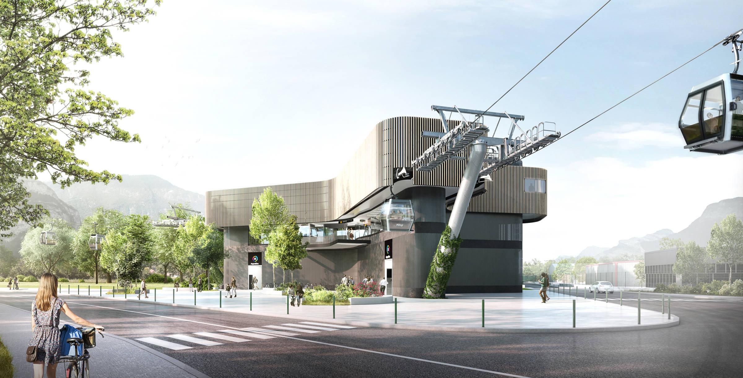 Liaison par câble entre Grenoble, Fontaine et Saint- Martin-le-Vinoux_Urbanisme durable_Groupe-6