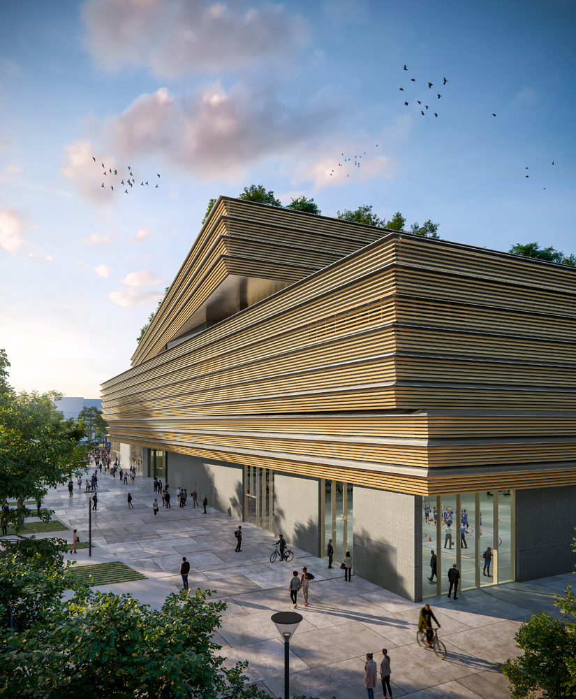 Paris Aréna, Paris_Architecte Paris 2024_Groupe-6