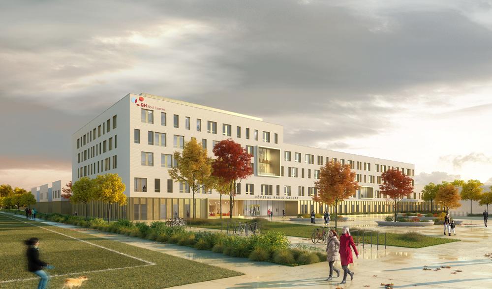 Saclay Hospital - Hopital Saclay, GHNE – Groupe-6